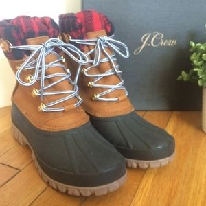NWB - Jcrew Perfect Winter Boots -Sz 10